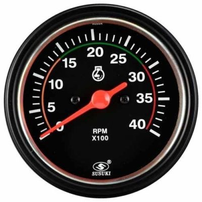 Wireless Tachometer Black Diesel Gauge