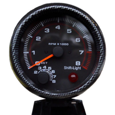 Wireless Tachometer Shift Light Gauge.